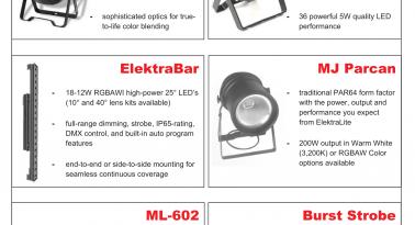 ElektraLite New For 2015